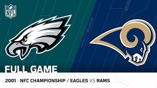 2001 NFC Championship Comeback | Eagles vs. Rams | NFL Full Game