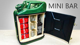 Video How To Make A Mini Bar From Jerry Can MP3, 3GP, MP4, WEBM, AVI, FLV November 2017
