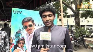 Vikram Prabhu at Sigaram Thodu Movie Press Meet