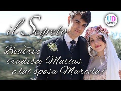 il segreto: matias e marcela si sposano