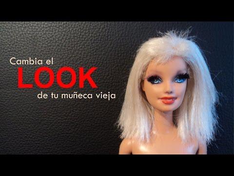 5. How to dye your Barbie doll / Cómo teñir el pelo de tu Barbie