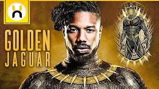 Video The Golden Jaguar Suit Explained | Black Panther MP3, 3GP, MP4, WEBM, AVI, FLV Januari 2018