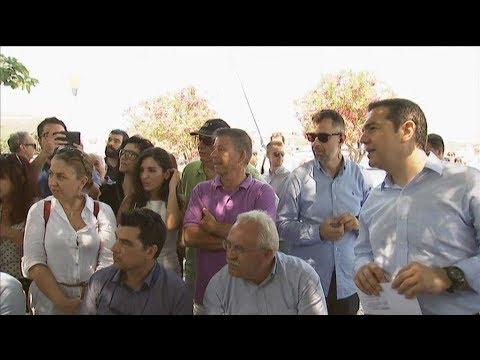 Διάλογος του Πρωθυπουργού Αλέξη Τσίπρα με τους πολίτες στη Ρόδο
