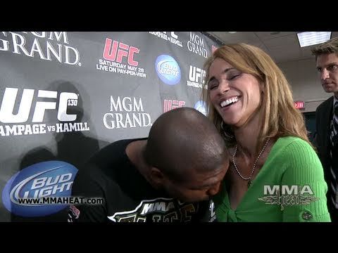 Rampage Jackson UFC 130 Interview