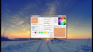 Работа с программой Color Mania