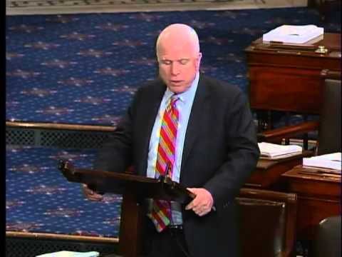 SENATOR McCAIN INTRODUCES TELEVISION CONSUMER FREEDOM ACT 5-9-13