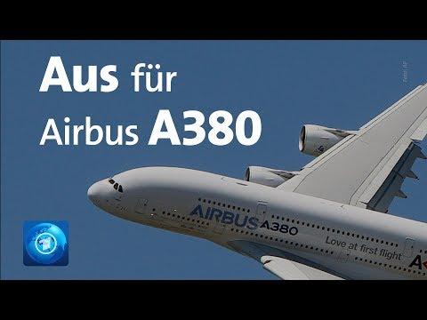 Airbus A380: Aus für den A380 - Airbus stellt die Produ ...