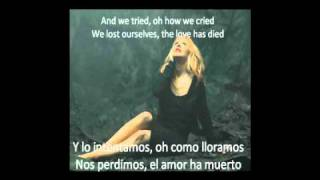 "Christina Aguilera ""You lost me"" Subtitulos Ingles Español Subtitles English Spanish"