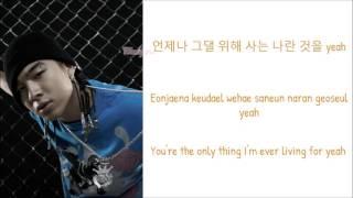 BIGBANG (TAEYANG) - MA GIRL (feat. GD&TOP) [Lyrics: Han/Rom/Eng]