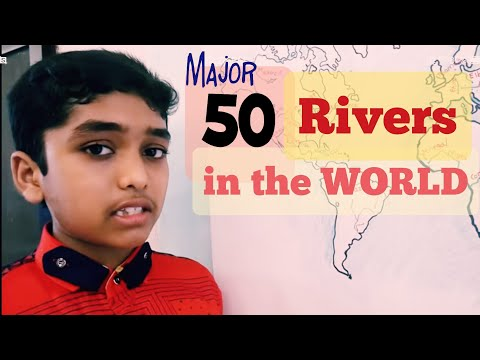 Rivers of the World Easy way to Learn: Learn with Amar
