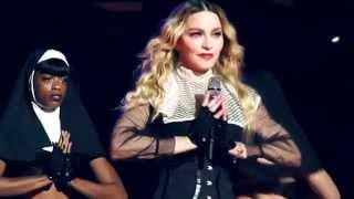 Video Madonna - Rebel Heart Tour - Holy Water (multi angles) MP3, 3GP, MP4, WEBM, AVI, FLV Juli 2018