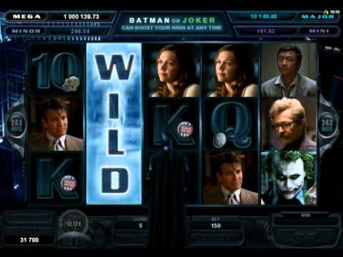 Microgaming slot The Dark Knight™