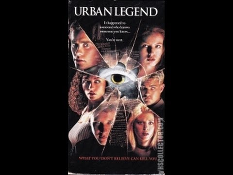 Opening To Urban Legend 1998 VHS