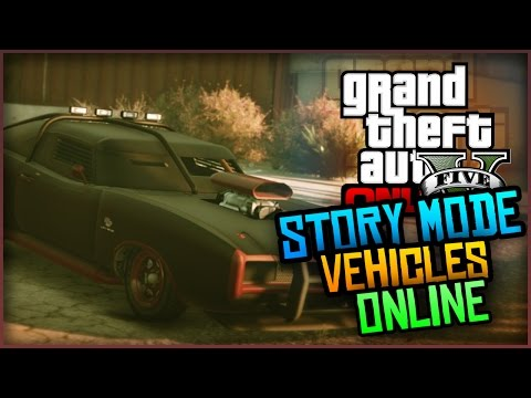 GTA 5 Glitches – How to Bring Story Mode Vehicles into GTA Online! (Tutorial)