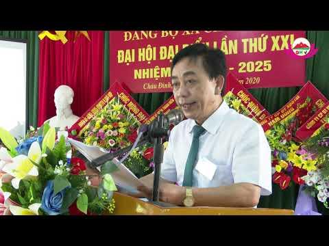 Đại hội đại biểu Đảng bộ xã Châu Đình lần thứ XXI, nhiệm kỳ 2020-2025