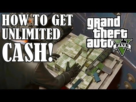 GTA 5 – How To Get Unlimited MONEY/CASH! – GLITCH