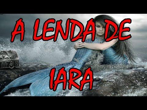 A Lenda da Sereia IARA - A Mãe d'água - História do Folclore Brasileiro