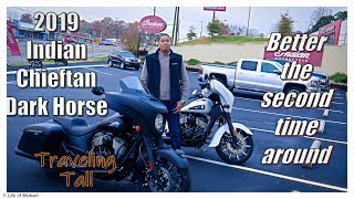 5. 2019 Indian Chieftain Dark Horse Test Ride and Review from an H-D owner. Indian Motorcycles