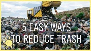Lima Cara Mudah Mengurangi Pembuangan Limbah Sampah Plastik