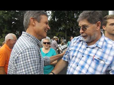 Video: Bill Lee talks to supporters in Rogersville.