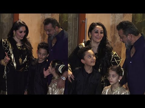 Sanjay Dutt's Diwali Party At His Home