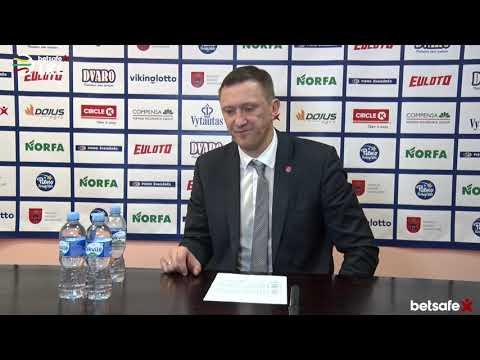 """""""Betsafe–LKL"""" rungtynių komentarai: """"Pieno žvaigždės"""" - """"Juventus"""" [2018-11-11]"""