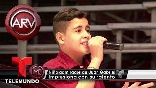 El niño colombiano que es idéntico a Juan Gabriel