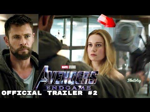 Avengers: Endgame Official Trailer #2 | Captain Marvel With Avengers