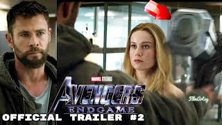 Avengers: Endgame Official Trailer #2 | Captain Marvel With Avengers