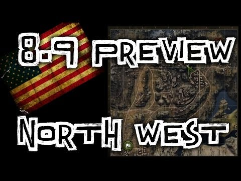 World of Tanks ||  NEW MAP - North West and Erlenburg Encounter