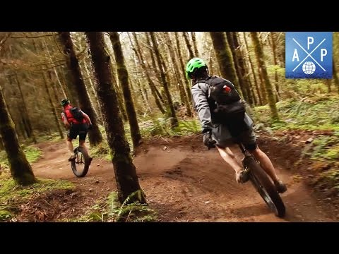 The Extreme Outdoor Sport of Mountain Unicycling