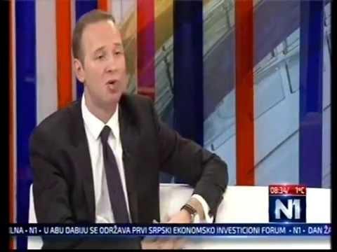 Владимир Тодорић у емисији Нови дан на ТВ Н1 (26.1.2015)