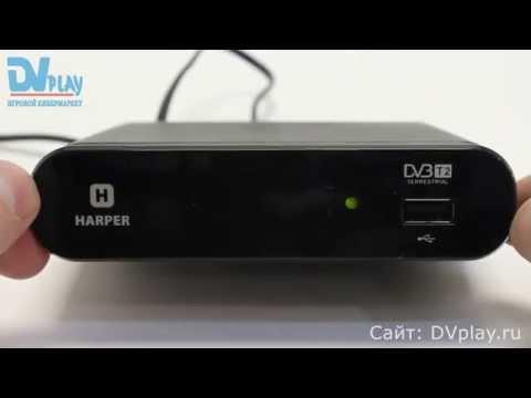 Harper 1200 - обзор DVB-T2 ресивера