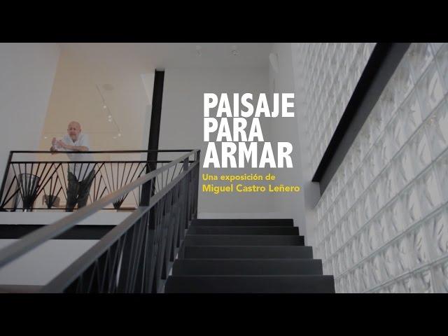 Paisaje para armar: Una exposición de Miguel Castro Leñero