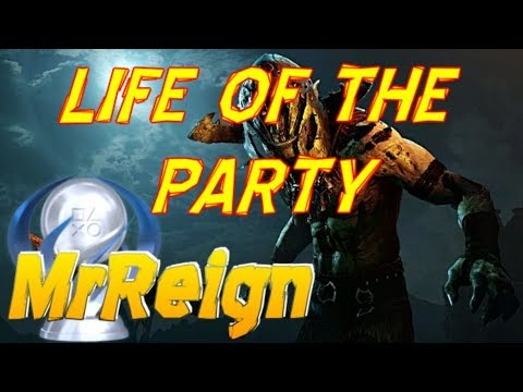 Middle Earth Shadow of War - Life Of The Party - Trophy Achievement