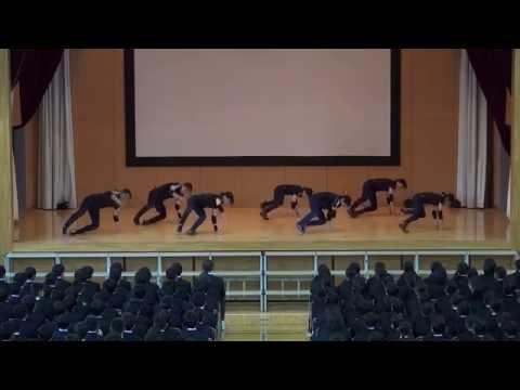 江戸川区立西葛西中学校ダンス部 新入生歓迎会2014
