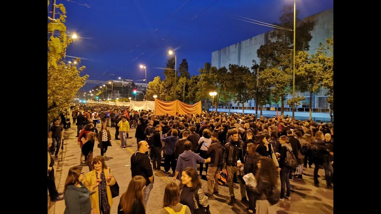 Πολυτεχνείο: Η πορεία για τα 46 χρόνια από την εξέγερση των φοιτητών…