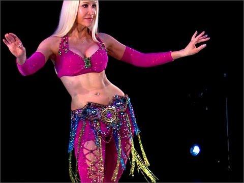 Танец живота: движения бедрами. Обучающее видео.