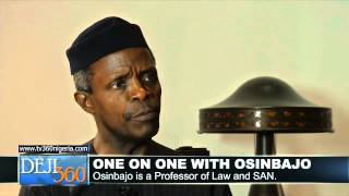 Why Corruption Continues To Thrive In Nigeria - Osinbajo