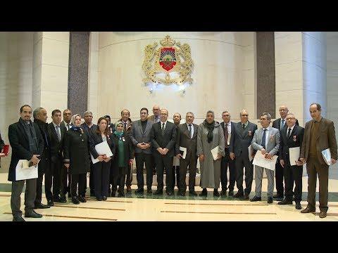 الرباط .. توشيح عدد من موظفي وموظفات مجلس المستشارين بأوسمة ملكية