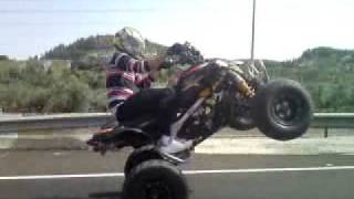 8. dsx 450 wheelie and top speed