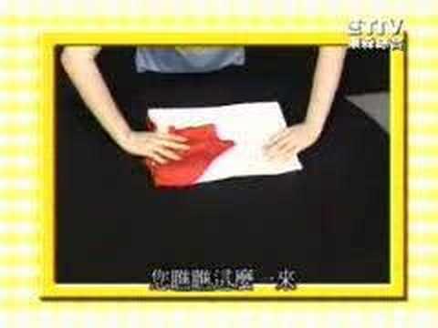 史上最快速的折衣法!只要7秒!