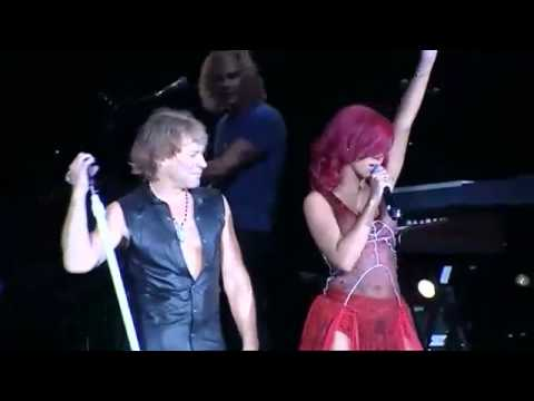 Bon Jovi and Rihanna - Livin' on a prayer