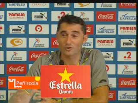 Entrevista de Prensa a Ernesto Valverde después del primer entreno con el Villarreal