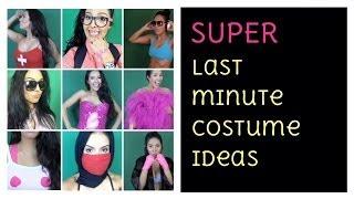 Last Minute Costumes - Easy DIY - No Makeup Needed - Halloween - YouTube