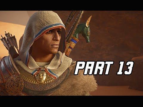 Assassin's Creed Origins Curse of the Pharaohs Walkthrough Part 13 - Follower or Leader