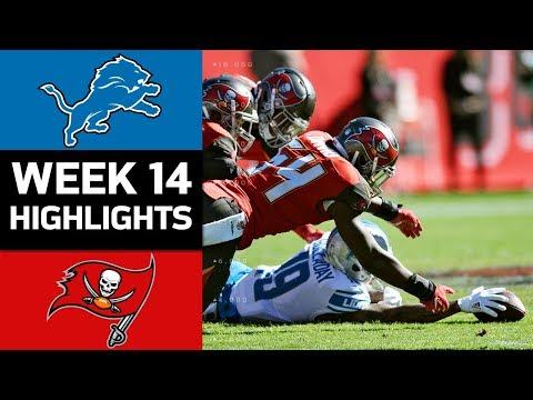 Video: Lions vs. Buccaneers | NFL Week 14 Game Highlights