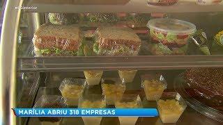 Marília registra abertura de mais de 300 empresas no mês de julho