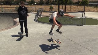 Today we go to Fremont Skate Park and help Miles land his first ever heelflip. This was a challenge but we overcame it and he was able to take it down like a boss! Click here for more Live Skate Support episodes: https://www.youtube.com/watch?v=MhisY8Iq4Rg&list=PLjpsoptsN4KB4Mi7C3BvrS5sTPpufg29H Want to skate with us?  Come to our Summer Camp or Skate Night!  Tickets to both here:https://www.brailleskateboarding.com/shop/http://www.brailleskateboarding.com/how-to-skateboard/YOU CAN LEARN TO SKATEBOARD! CLICK ABOVE TO GET THE MOST DETAILED HOW TO SKATEBOARD LESSON PLAN EVER MADE!  SKATEBOARDING MADE SIMPLE!GET SKATEBOARDING MADE SIMPLE ON iBOOKS! https://itunes.apple.com/us/artist/aaron-kyro/id733499725?mt=11GET SKATEBOARDING MADE SIMPLE ON GOOGLE PLAY https://play.google.com/store/books/details/Aaron_Kyro_Skateboarding_Made_Simple_Vol_1?id=8BEbBQAAQBAJSkateboarding Made Simple on Amazon: https://www.amazon.com/Skateboarding-Made-Simple-Braille-Aaron/dp/B01LYPOIVP/ref=sr_1_1?ie=UTF8&qid=1482278130&sr=8-1&keywords=skateboarding+made+simpleFOLLOW ON SOCIAL MEDIAINSTAGRAM https://instagram.com/brailleskate/FACEBOOK: http://www.facebook.com/BrailleSkateboardingGOOGLE +: https://plus.google.com/107594784940938640430TWITTER: http://twitter.com/#!/BrailleSkateFor general inquiries email contact@brailleskateboarding.comFor business, brand or media inquiries please email jen@brailleskateboarding.comCHECK OUT OUR WEBSITE FOR ALL THE LATEST BRAILLE NEWS AND UPDATES!!! http://www.brailleskateboarding.comTHUMBS UP FOR MORE VIDEOS!PLAYLISTS LINKS FOR MOBILE USERSlearn to skate: http://www.youtube.com/playlist?list=PL34F060CE1BA3E968SKATE SUPPORThttp://www.youtube.com/playlist?list=PL2E1C0A94C6B6CEBB&feature=view_allCLIPPEDhttp://www.youtube.com/playlist?list=PLjpsoptsN4KCS-4mngnS8xM4ZXwpn60NQ&feature=view_allslow motionhttp://www.youtube.com/playlist?list=PLC8009736C487A442&feature=viewalltop videoshttp://www.youtube.com/playlist?list=PL1EDB4CAEBAD05D02Clip of the weekhttp://www.y