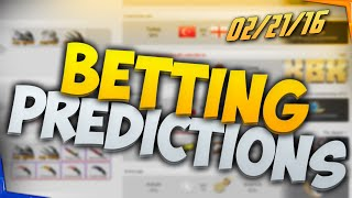 CSGO Lounge Betting Predictions - Fnatic vs G2, Vault vs coL, and More! 02/21/16